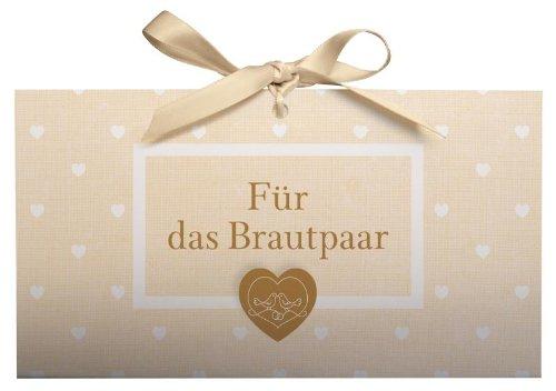 Für das Brautpaar - Geschenkverpackung für ein Geldgeschenk