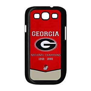 NCAA Georgia Bulldogs Champions Banner Cases Cover for Samsung Galaxy S3 I9300