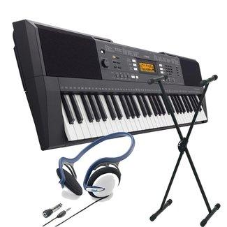 Yamaha PSR-E-343 SPAR-Set Keyboard mit Stativ und Stereo-Kopfhörer