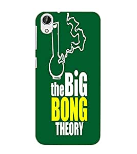 HTC DESIRE 626 + BIG BONG Back Cover by PRINTSWAG