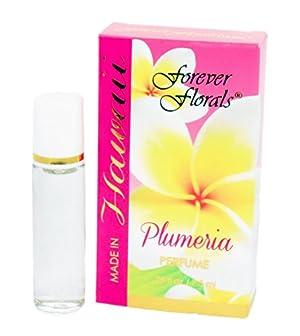 Hawaiian Plumeria Perfume Roll-on 0.25oz By Forever Florals Hawaii