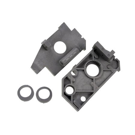 Traxxas Nitro 4 Tec Rear Slide Plates, Grey