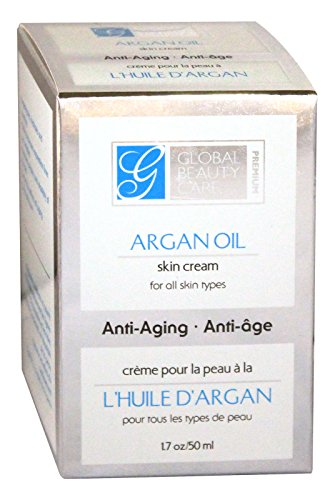 Global Beauty Care Argan Oil Skin Cream - 1.7