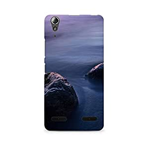 TAZindia Designer Printed Hard Back Case Mobile Cover For Lenovo A6000