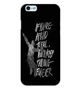 PrintVisa Quotes & Messages Attitude Life 3D Hard Polycarbonate Designer Back Case Cover for Apple iPhone 6