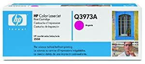 HP Laserjet 123A  Magenta Cartridge in Retail Packaging (Q3973A)