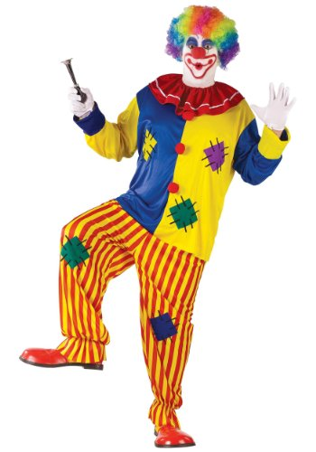 Fun World Men's Big Top Clown Costume