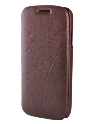 Brain Freezer Kld Oscar 2 Flip Case Cover For Samsung Galaxy S4 I9500 Red