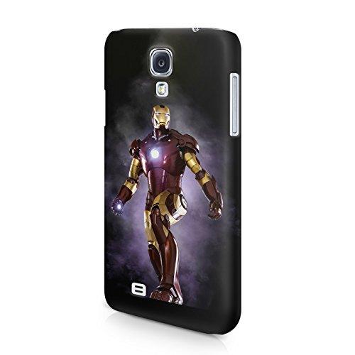 Iron Man Tony Stark The Avengers Superhero Hard Snap-On Protective Case Cover For Samsung Galaxy S4