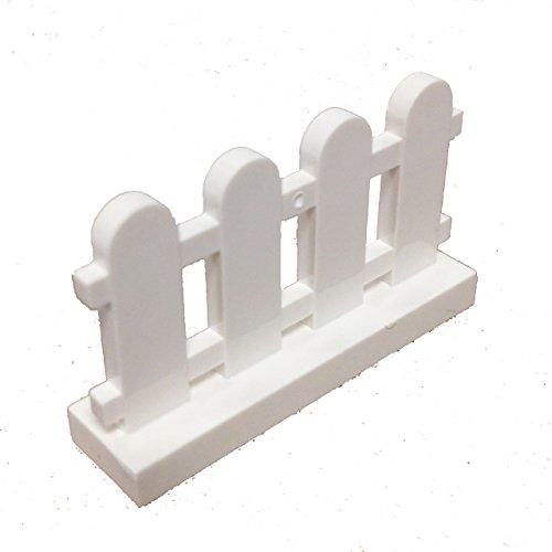Lego Parts: Fence 1 x 4 x 2 Paled (Picket) (White) - 1