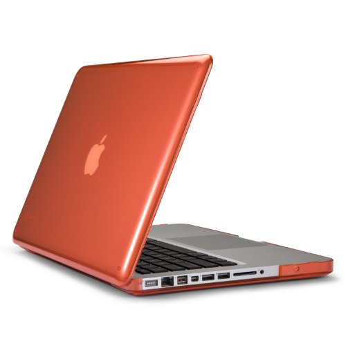 Speck Products SeeThru Hard Shell Case for MacBook Pro 13-Inch, Wild Salmon (SPK-A1479)
