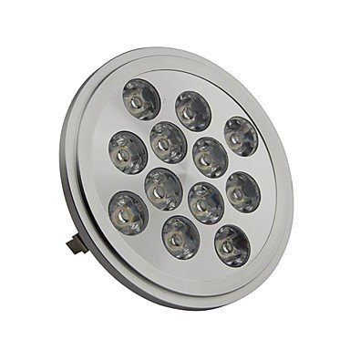 Rayshop - Dimmable Ar111 G53 12W 1200Lm 3000K Warm White Led Spot Lamp Light(Ac220-260V)