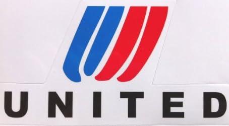 ユナイテッド航空 ステッカー 防水シール~スーツケース・タブレットPCに
