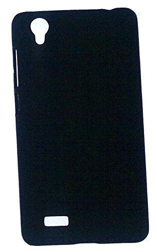 low priced b289f 5bfdc HIGH QUALITY RUBBERIZED PLASTIC HARD BACK COVER FOR VIVO Y31L(black)