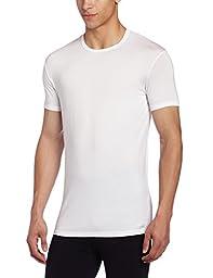 Calvin Klein Men\'s Body Modal Short Sleeve Crew Neck T-Shirt, White, Medium