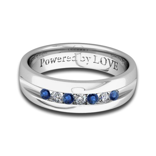 White Gold Wedding Bands Mens White Gold Wedding Bands Diamonds And Sapphires