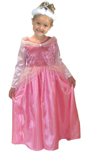 Little Adventures Sleeping Beauty Princess Dress-up Costume - Size Large (ages 5-7)