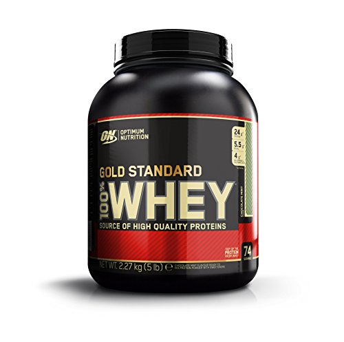 Optimum Nutrition 100% Whey Gold Standard, Chocolate Mint, Net WT. 5 LB, 80 Ounce Personal Care