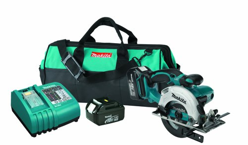Makita BSS501 18-Volt LXT Lithium-Ion Cordless 5-3/8-Inch Circular Trim Saw Kit
