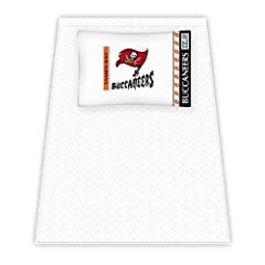 NFL Tampa Bay Buccaneers Micro Fiber Sheet Set by Sports Coverage