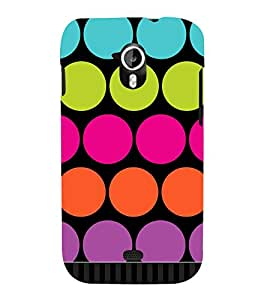 Big Dotted Pattern 3D Hard Polycarbonate Designer Back Case Cover for Micromax Canvas HD A116 :: Micromax Canvas HD Plus A116Q