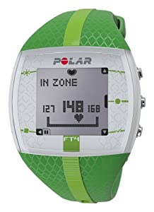 Polar FT4 Heart Rate Monitor, Green
