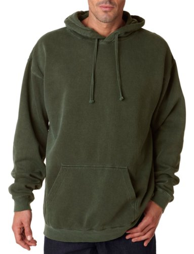 Comfort Colors 1567 Garment Dyed Pullover Hood. - Hemp - L