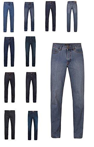 Herren 5-Pocket Jeans der Marke Paddock's in verschiedenen Farben, Passform: Slim Fit, Ranger (80 253 1606 000), Größe:W34/L36;Farbe:blue black dark used(5703)