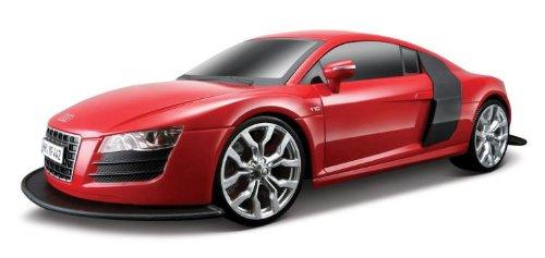 MAISTO TECH RADIO REMOTE CONTROL 1:10 AUDI R8 V10 RED CAR TOY RC NEW IN BOX