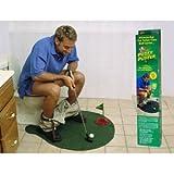 トイレの 時間も 有効活用! トイレットゴルフセット ゴルフ 好きな方に
