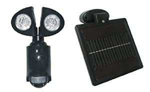Solar-powered Motion Detector Security Lighting