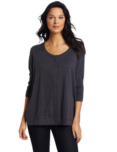 Margaret O'Leary Women's Snap Cardigan Sweater