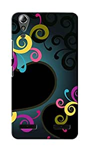 CimaCase Hearts Designer 3D Printed Case Cover For Lenovo A6000