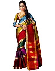Miraan Handwooven Printed Cotton Saree For Women