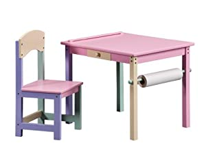 Pastel Large Art Desk (Pink)