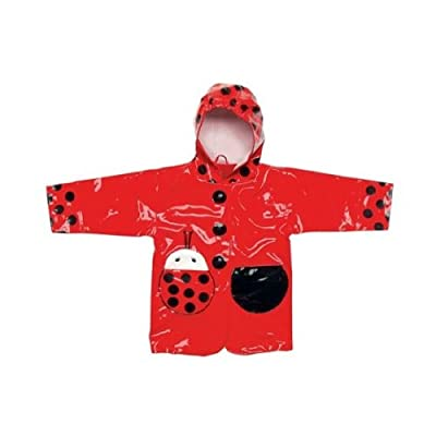 Kidorable Raincoat Large (1-6 years) - Ladybug