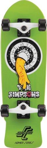 Santa Cruz Simpsons Homer One Micro Complete 8.3x26 Skateboarding Completes