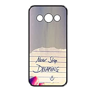 Vibhar printed case back cover for Samsung Galaxy Grand Max NeverDreaming