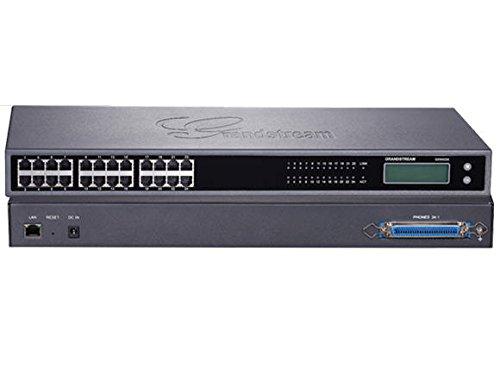 Grandstream GXW-4224 Passerelle VoIP 24 Ports FXS Noir