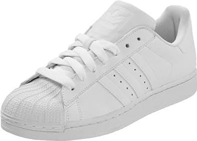 adidas Originals Men's Superstar ll Sneaker,White/White/White,8 D US