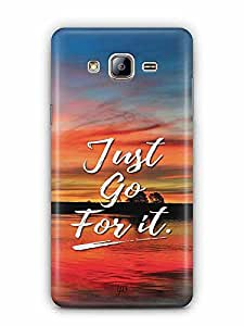 YuBingo Just Go For It Designer Mobile Case Back Cover for Samsung Galaxy On 5 Pro