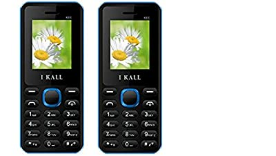 I Kall K66 set of 2 Dual Sim Mobiles (Blue & Blue)