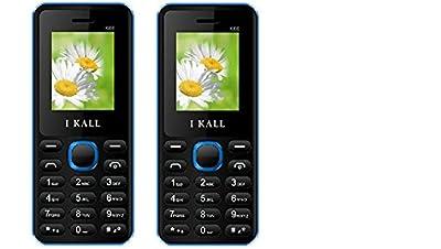 I Kall K66 set of 2 Dual Sim Mobiles (Blue & Blue)