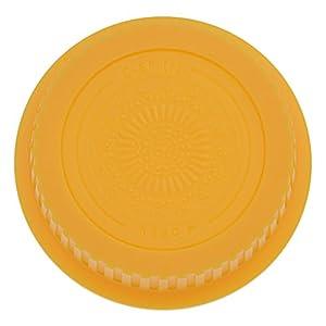 Fotodiox Designer Rear Cap for Canon EOS (Yellow) (Color: Yellow)
