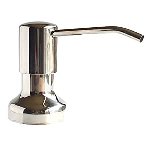 Ultimate Kitchen Stainless Steel Sink Soap Dispenser Model Ssd3 Polished Finish