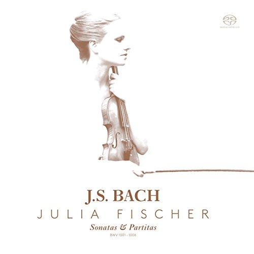 SACD : JULIA FISCHER - Sonatas & Partitas Solo Violin (Hybrid SACD, 2 Pack)