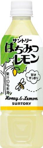 Suntory honey lemon 500ml×24 book