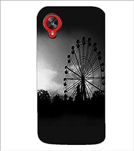 PrintDhaba Giant Wheel D-2346 Back Case Cover for LG GOOGLE NEXUS 5 (Multi-Coloured)