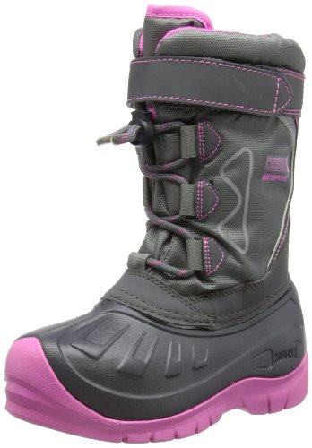Kodiak Girls Gracie Snow Boots 818658 Grey/Pink 2 UK Child, 34 EU, 3 US Child