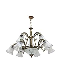Aesthetichs Antique Down Chandelier for 12 Lamps